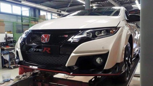 Civic Type R fata